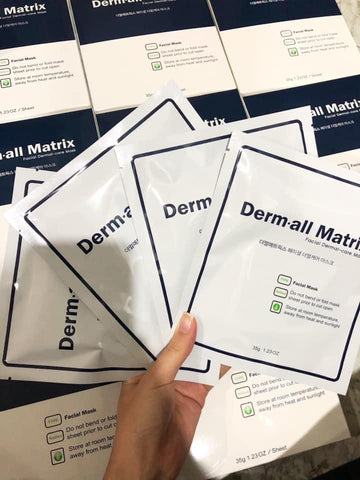 Derm-all Matrix Facial Masks (1 box/4 pieces)