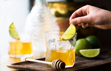 Benefits For Your Health Honey With Lime Water