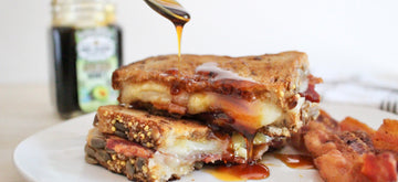 Avocado Honey & Bacon Grilled Cheese