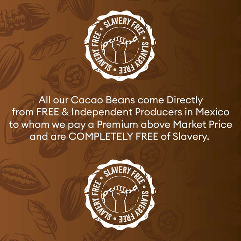 honey blossom cacao slavery free