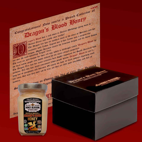 Dragon's Blood Honey Collector's Limited Edition Gift Box Set