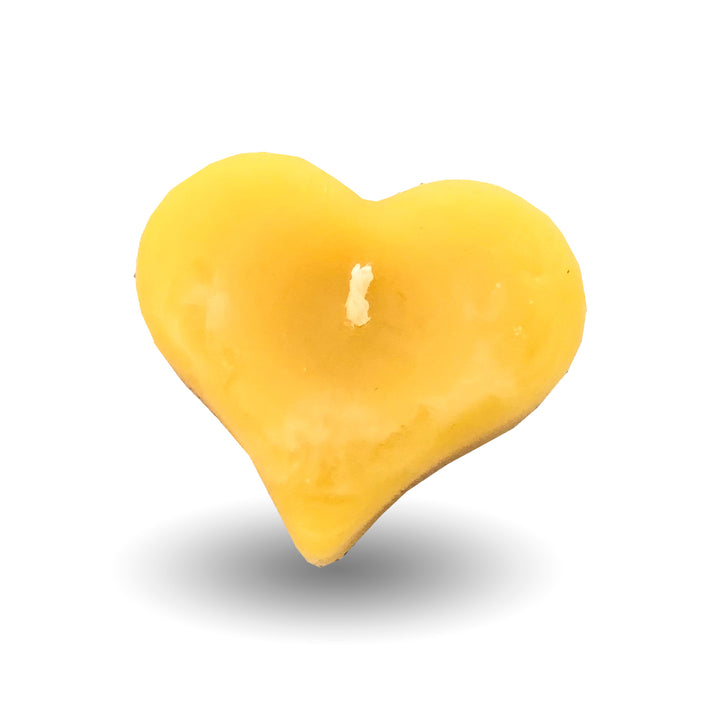 Beeswax Candle | 0.88 Oz Floating Valentine - Honey Blossom USA