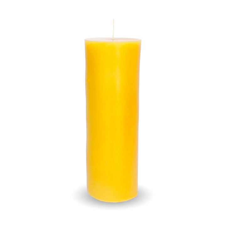 Beeswax Candle | 30 oz Large Cylinder Candle - Honey Blossom USA