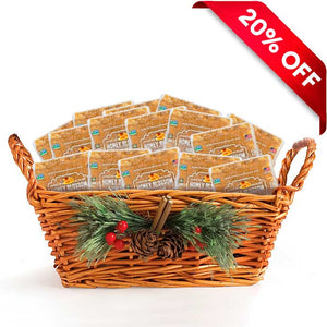 100% RAW Honeycomb Gift Basket (20 Pieces)