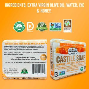Pure Castile Soap with Honey