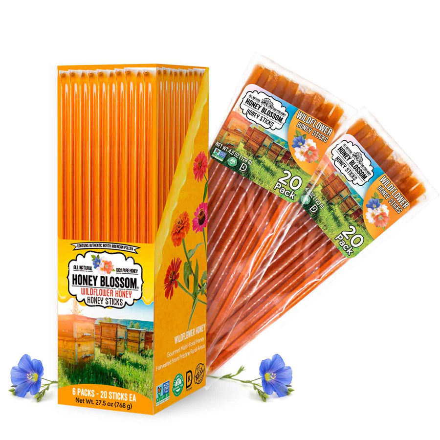 Wildflower Honey Sticks Box