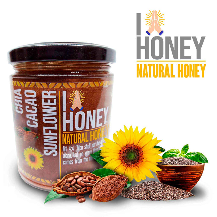 Honey, Cacao, Chia, Natural, Health, Immune, Boost
