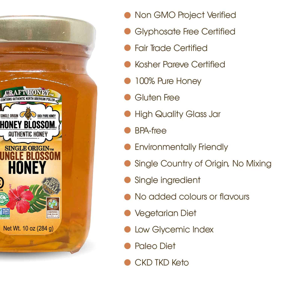 Jungle, Honey, Natural, Health