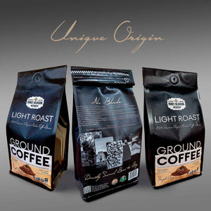 100% Arabica Bean GOURMET Ground Coffee Light Roast ALL Natural Health Immunity Booster