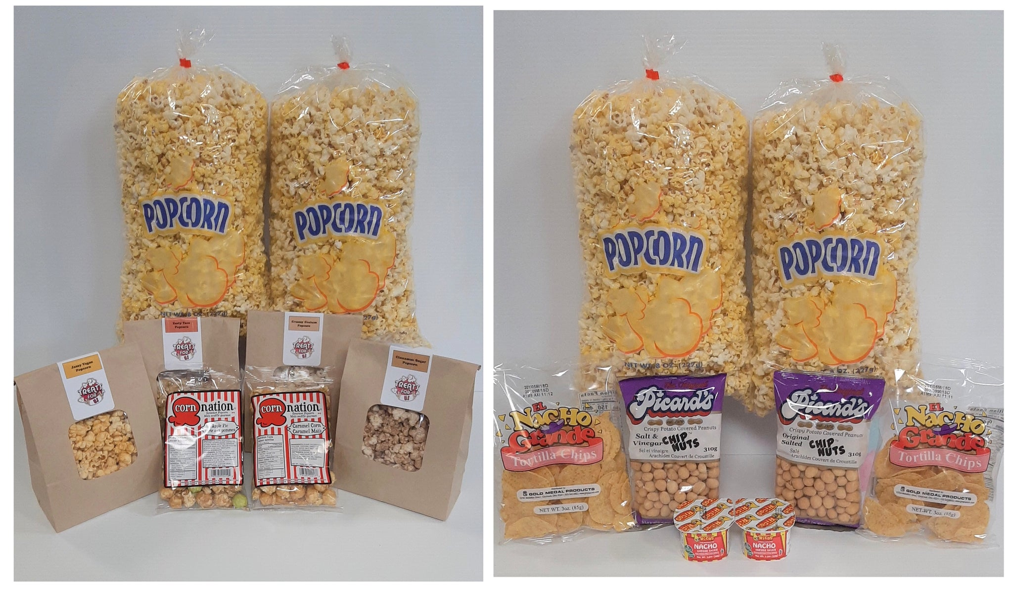 Introducing the Ultimate Popcorn Pack and Salty and Nutty Pack