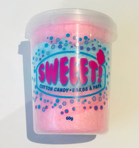 LARGE OR SMALL SWEEET Cotton Candy - Blue Rasberry and Cherry