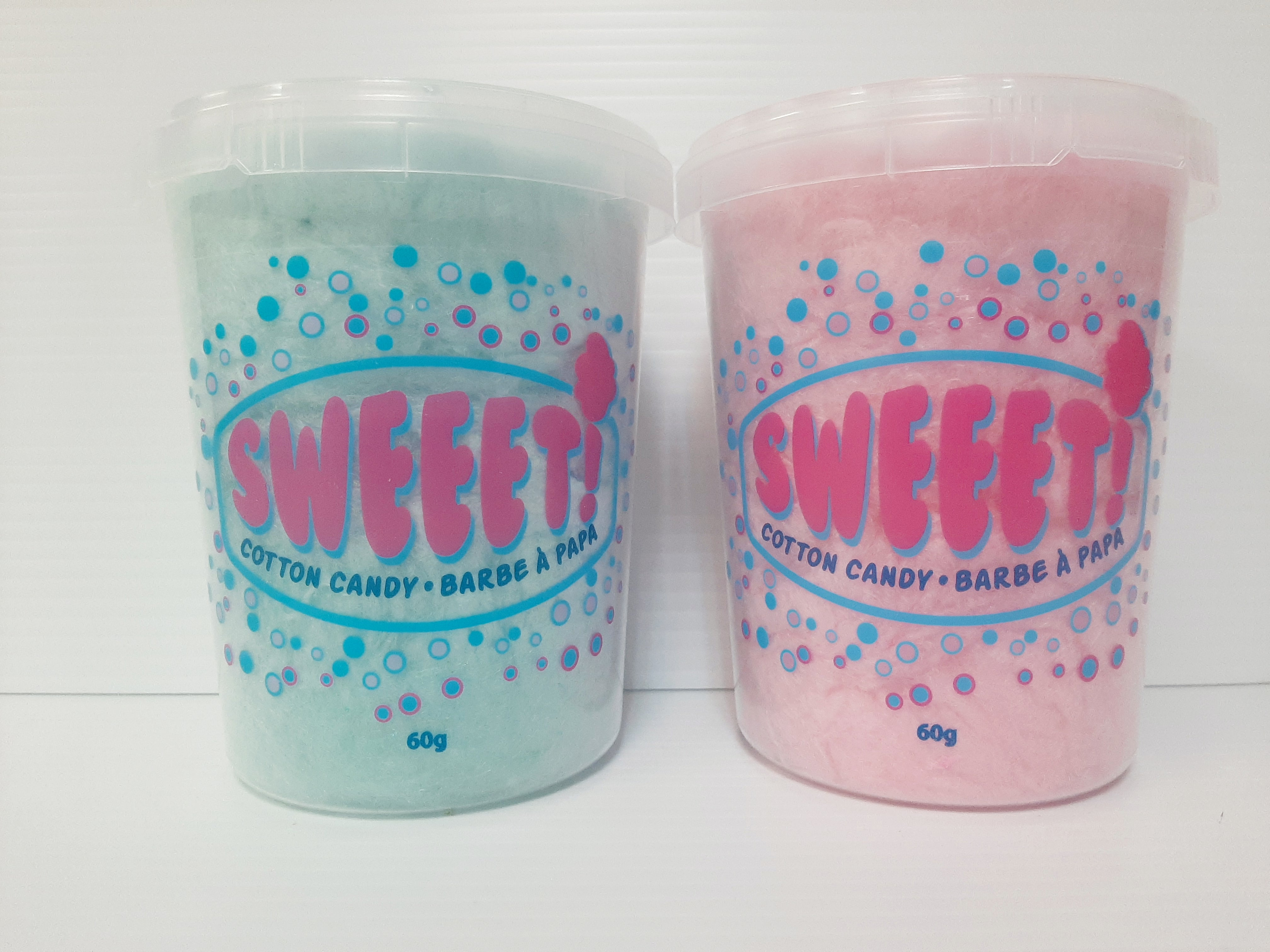Cotton Candy - Choose Your Own Flavour - 10 x 60g Tubs