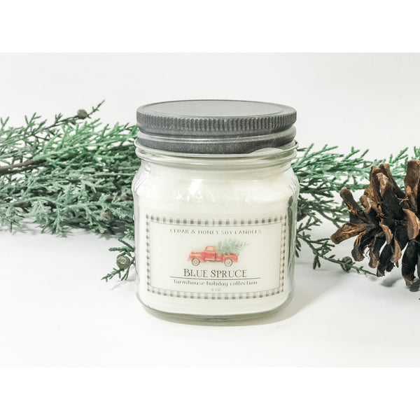 Farmhouse Holiday Collection Soy Candles
