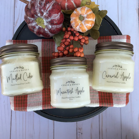 8 oz. Soy Candles