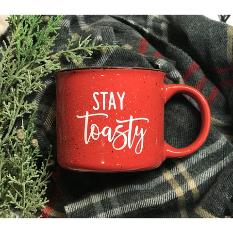 Stay Toasty Campfire Mug