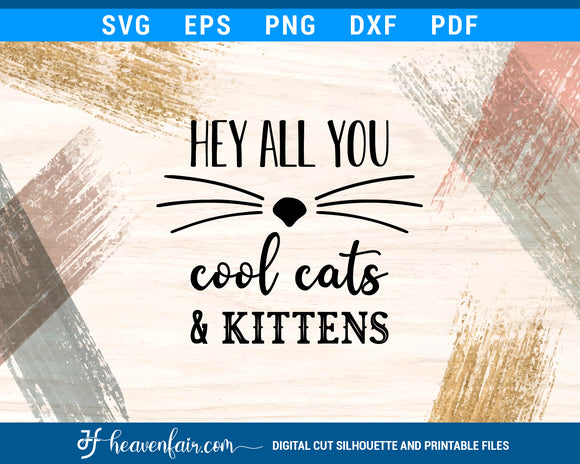 Carole Baskin Hey All You Cool Cats And Kittens Funny Svg Heaven Fair
