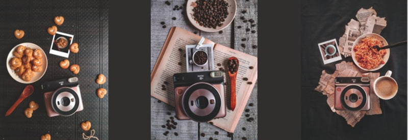 3 DIY ideas with Fujifilm Instax camera to make lockdown fun
