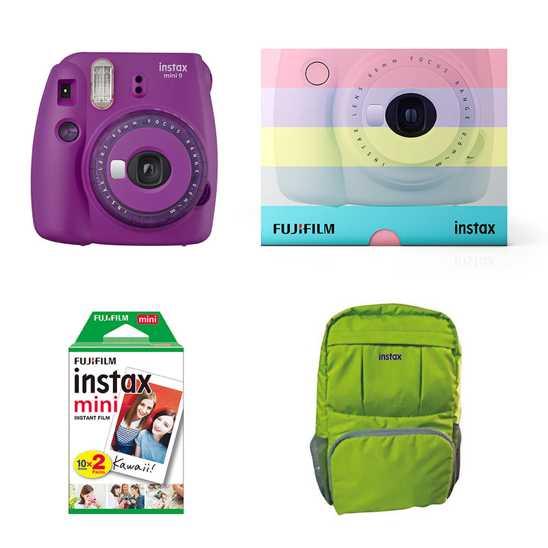 Instax Mini 9 On the Go- high quality polaroid camera