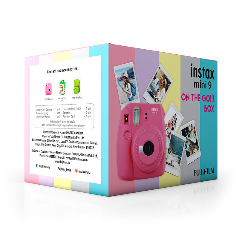 Instax Mini 9 On the Go- perfect gift for him
