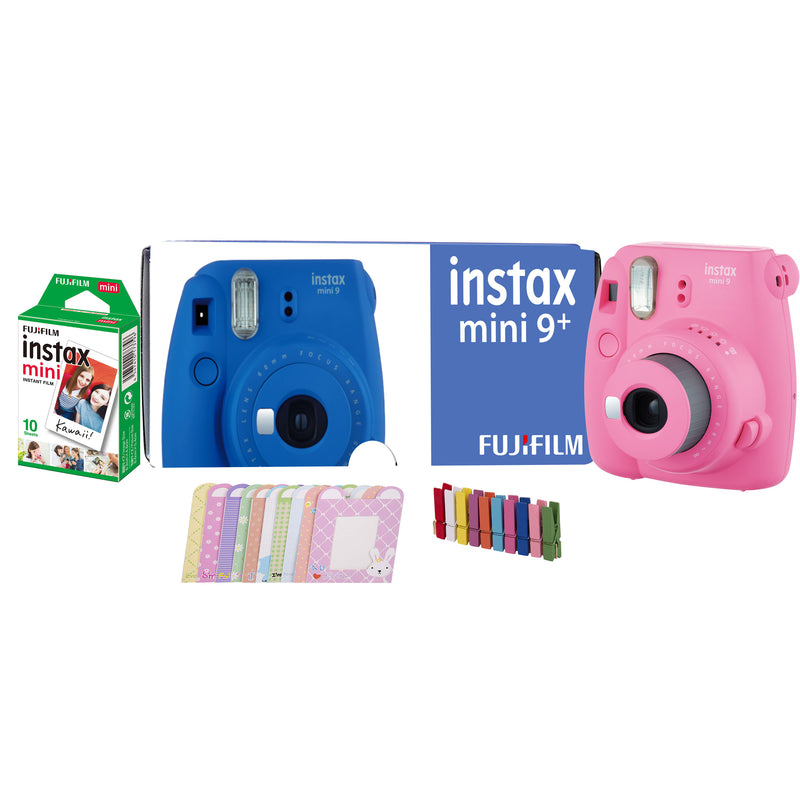Fujifilm Instax Mini 9 Plus (Flamingo Pink)