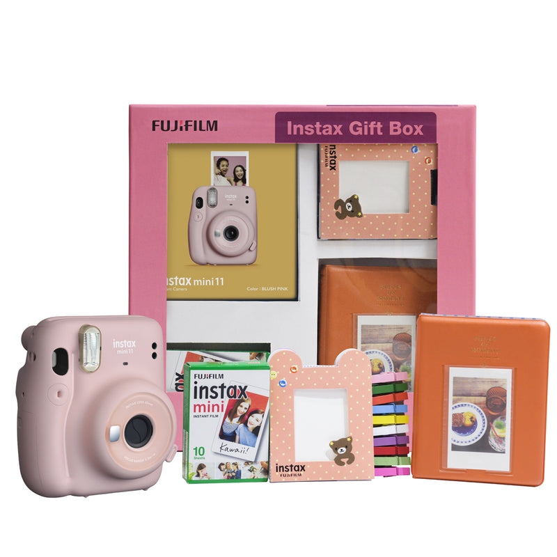 Fujifilm Instax Mini 11 Instant Camera Gift Box- best rakshabandhan gift for sister