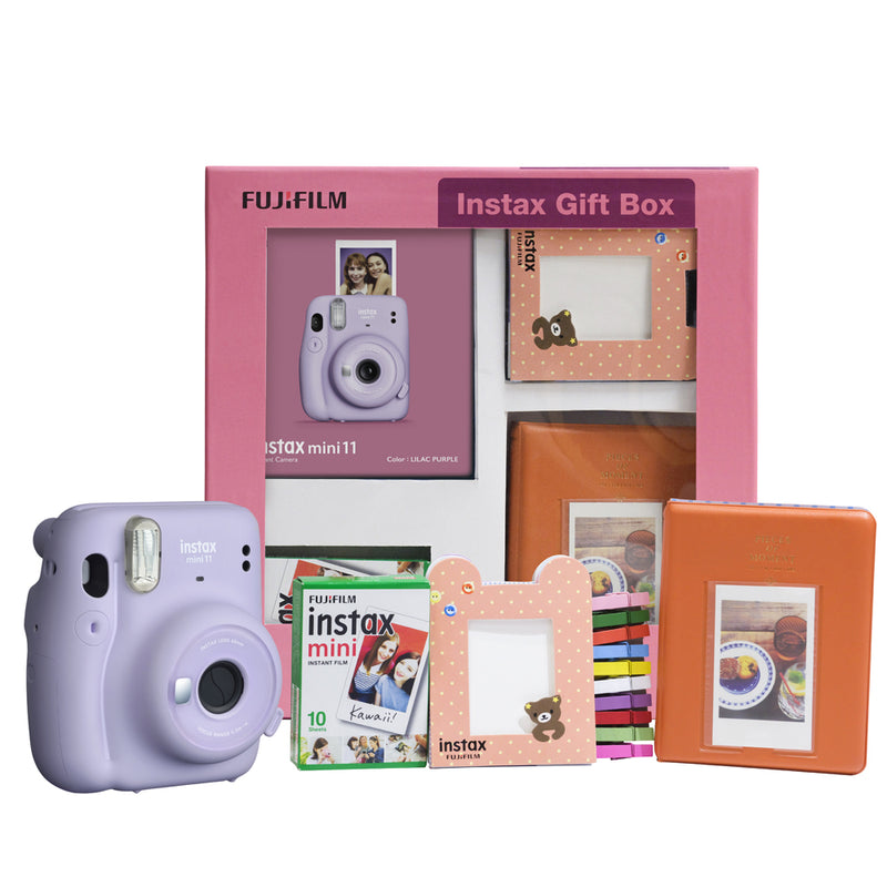 Fujifilm Instax Mini 11 Instant Camera Gift Box- best gift on raksha bandhan for sister