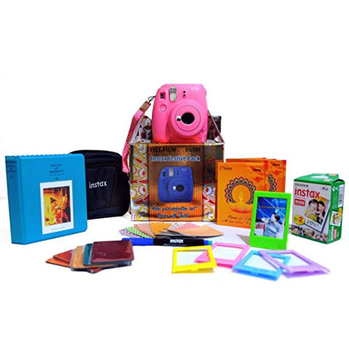 Instax Mini 9 Festival Box- best camera for instant photos