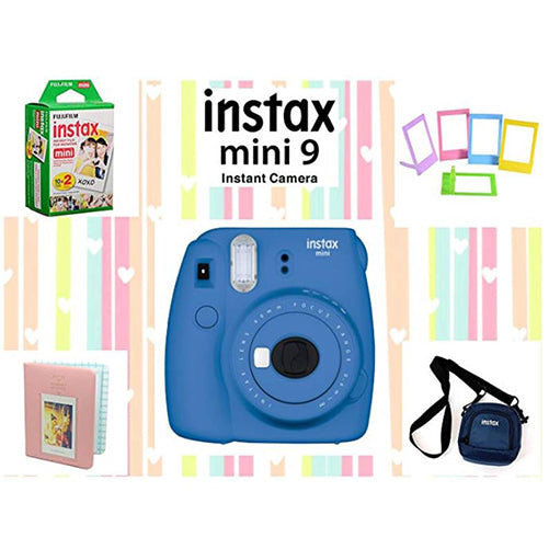 Fujifilm Instax Mini 9 Joy Box (Cobalt Blue)
