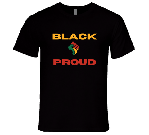 Black & Proud Men's T Shirt