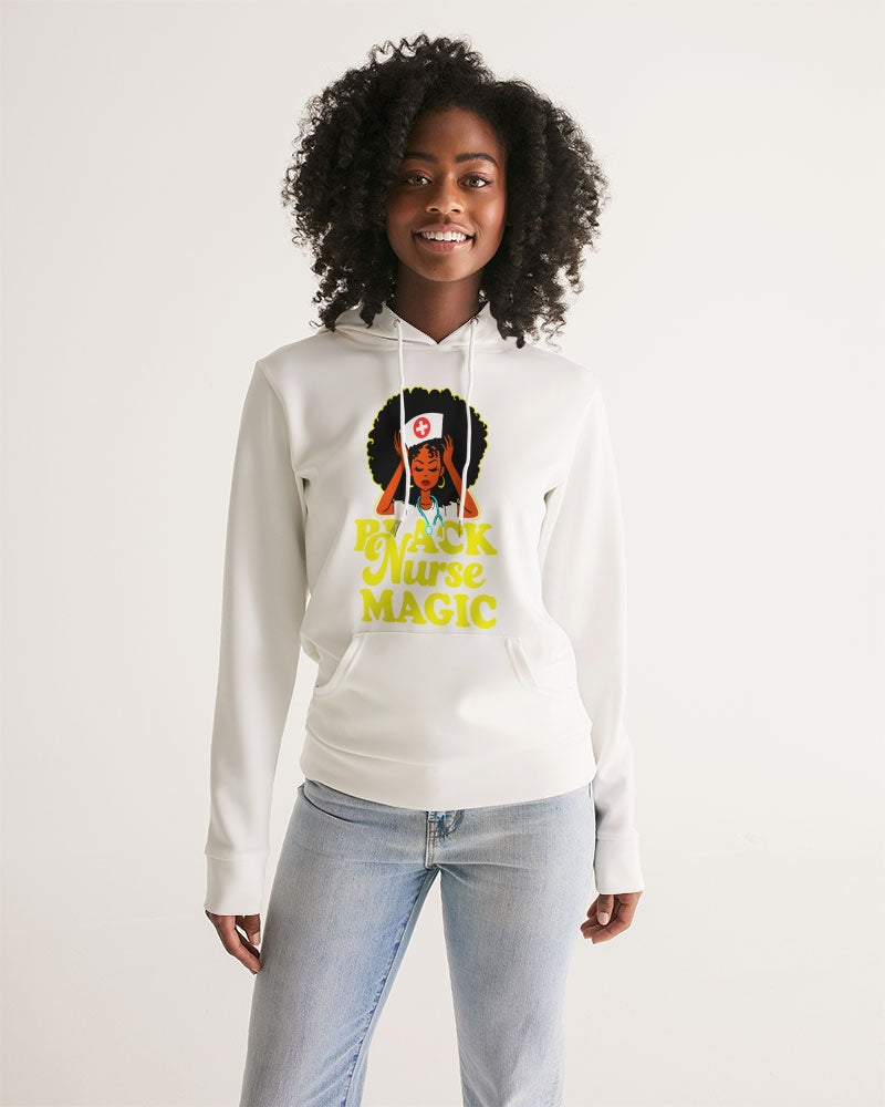 Black Nurse Magic Women's Hoodie