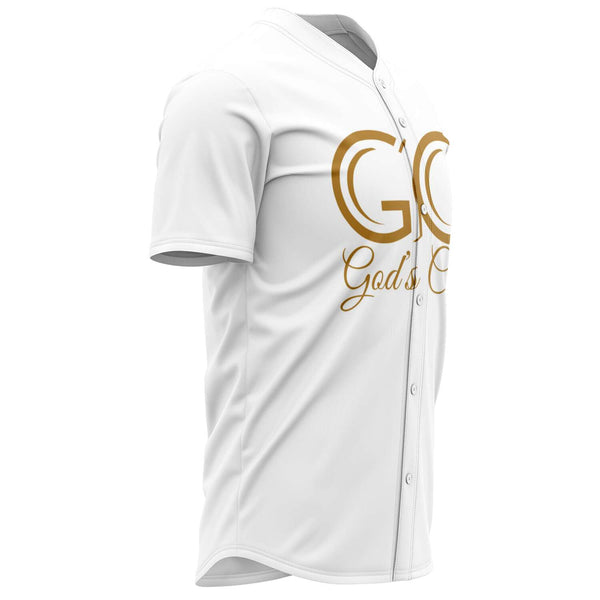 God's Child Baseball Jersey - Winter White