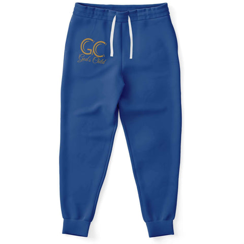 God's Child Deep Blue Joggers