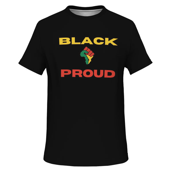Black & Proud All Over Print (Black)