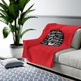 Black Queen Velveteen Plush Blanket