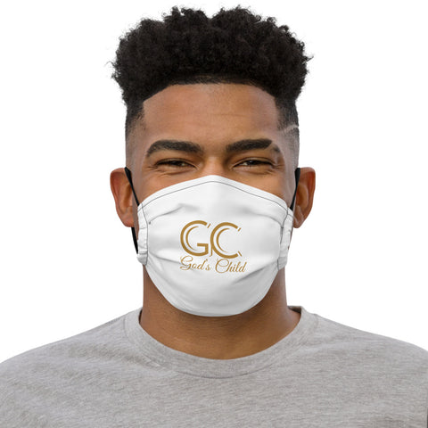 God's Child Face Mask - White