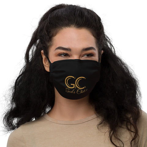 God's Child Face Mask - Black