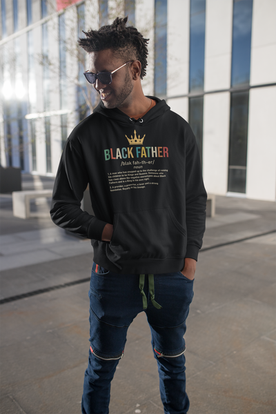 Black Father Hoodie