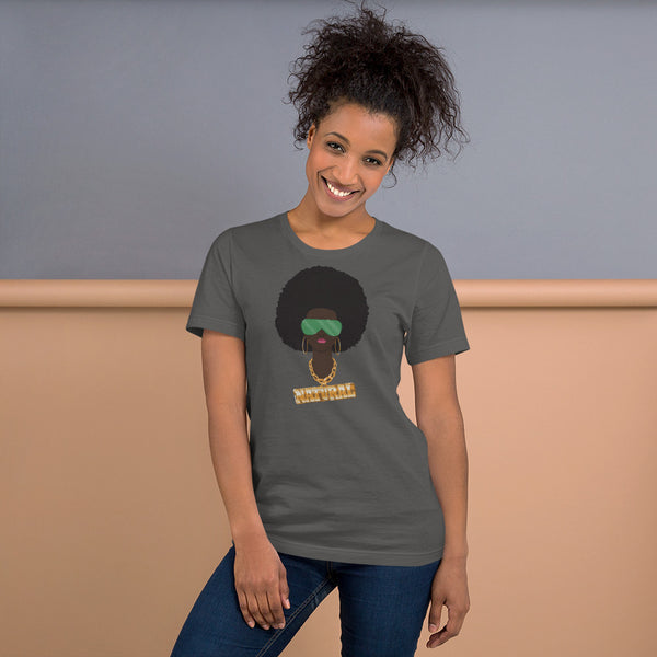 Natural Afro Lady T-Shirt