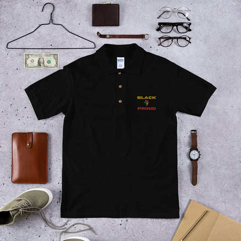 Black & Proud Polo Shirt