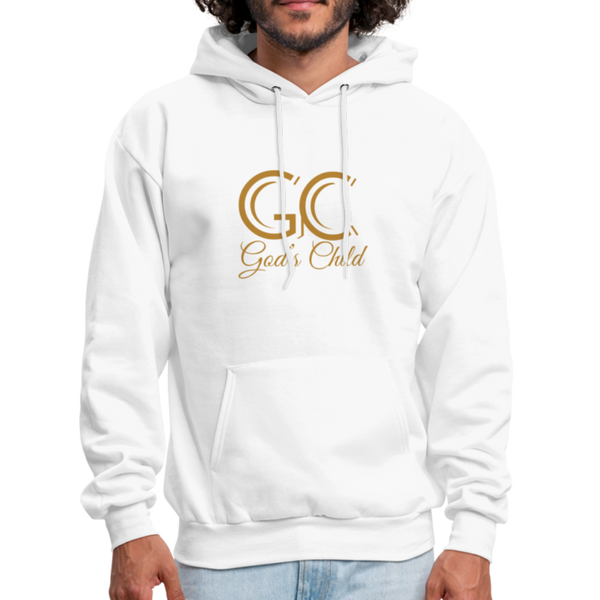 God's Child Men's Hoodie - white