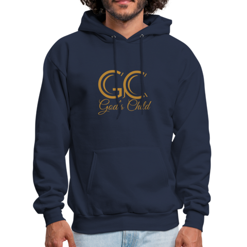 God's Child Men's Hoodie - navy