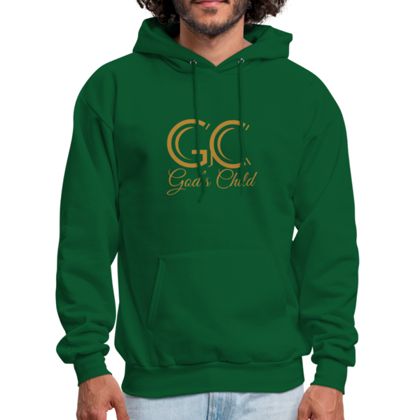 God's Child Men's Hoodie - forest green