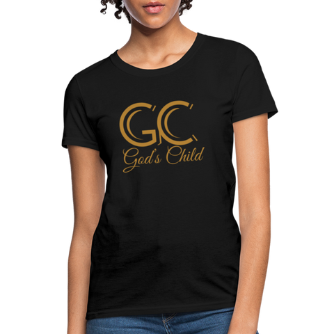 God's Child Women's T-Shirt - black