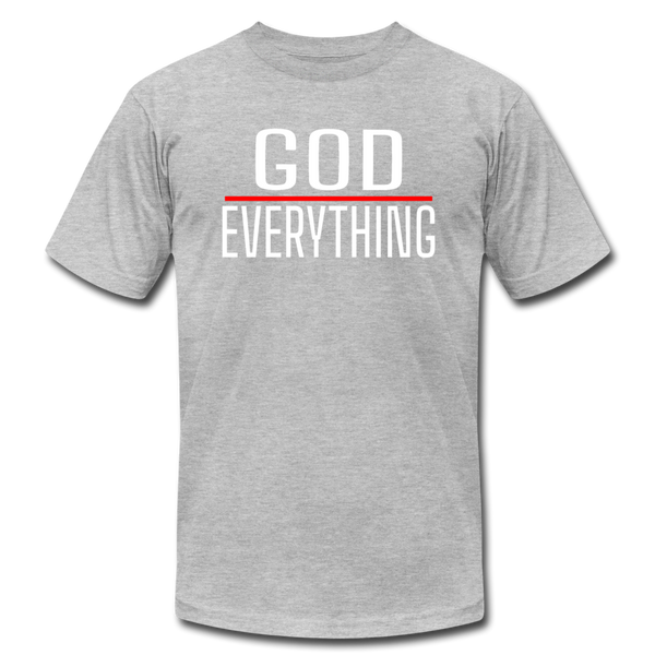God Over Everything - heather gray