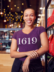 1619 - Know Your History Ladies V-Neck