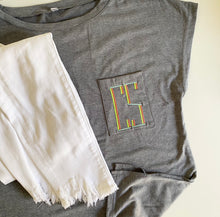 Load image into Gallery viewer, Pocket Monogram Tee