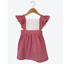 Load image into Gallery viewer, Red Gingham Dress