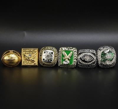 Philadelphia Eagles Set of 6 champion rings