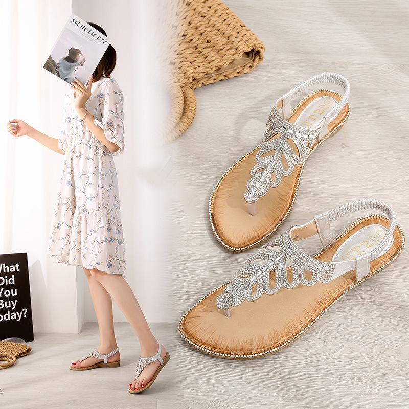 Rhinestone Sandals (Multiple Colors Available)