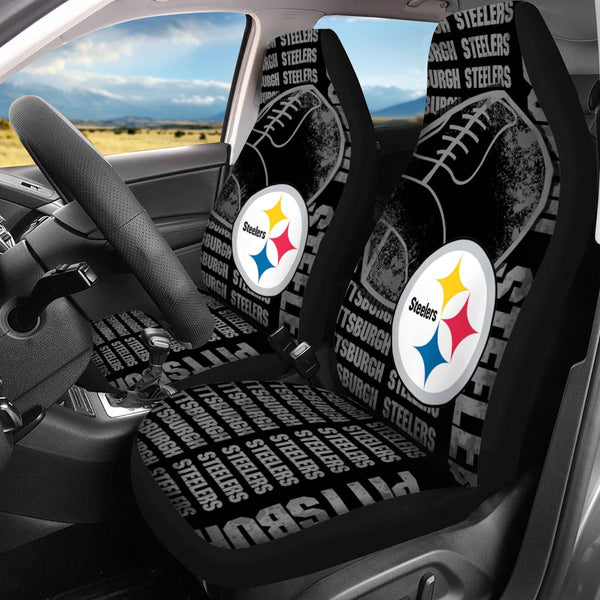 【PITTSBURGH STEELERS】 CAR SEAT COVERS LIMITED EDITION!